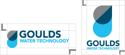 Goulds Water Technology Logo Clear Space