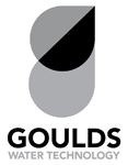Goulds Water Technology Logo Vertical Gray