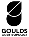 Goulds Water Technology Logo Vertical Black