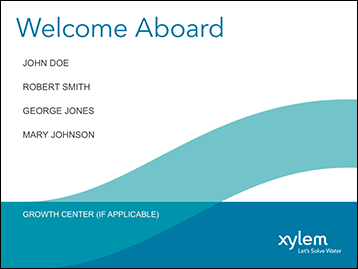 Welcome Aboard Powerpoint