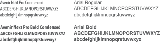 Secondary Typeface