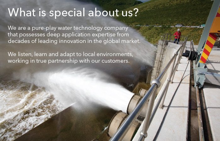 What is special about us? We possess deep application expertise from decades of leading innovation in the global market. We listen, learn and adapt to local environments, working in true partnership with our customers.